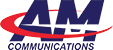 AM Communications Mobile Logo